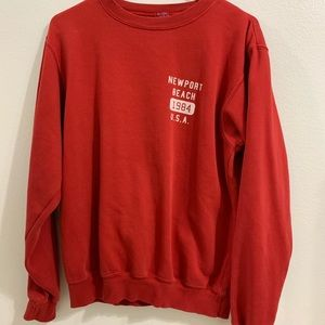 Brandy Melville Red Top S